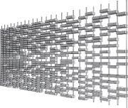 brick screen random rendered
